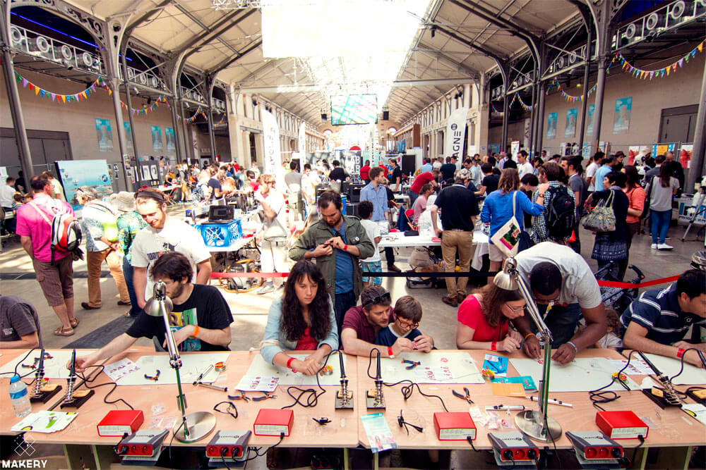 Maker Hareketi 2014 Paris