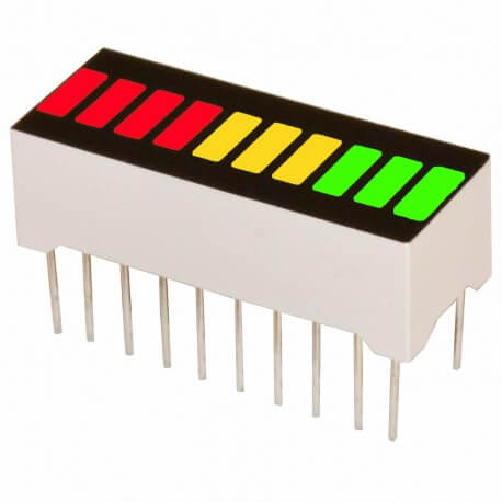 10 Segment RGB Led Bar Graph